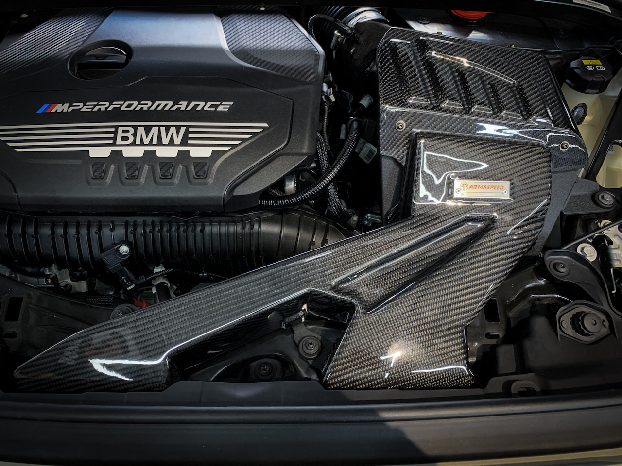 Name:  Armaspeed carbon fiber cold air intake for  BMW F40 M135 for sale.jpg Views: 142 Size:  957.2 KB
